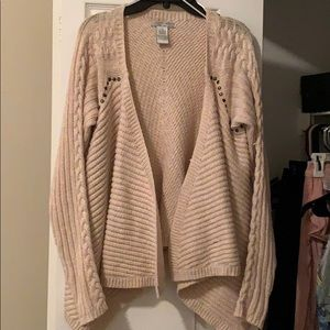 Alberto Makali sweater cardigan M fits small